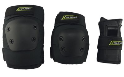 Allnice 3 in 1 Knee Elbow Pads Wrist Guards