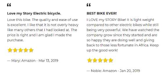 Story Bikes Reviews